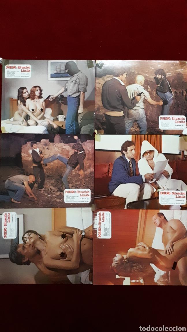 LOTE DE 10 FOTOCROMOS. SITUACIÓN LIMITE. CLASIFICADA S (Cine - Fotos, Fotocromos y Postales de Películas)