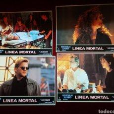 Cine: LOTE DE 8 FOTOCROMOS. LÍNEA MORTAL.. Lote 148362533
