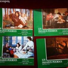 Cine: LOTE DE 11 FOTOCROMOS. LOS PARAÍSOS PERDIDOS.. Lote 148363890