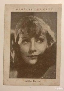Greta Garbo. Glorias del cine. Serie N. Núm 5