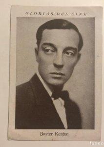 Buster Keaton. Glorias del cine. Serie M. Núm 13