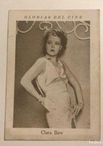 Clara Bow. Glorias del cine. Serie N. Núm 14
