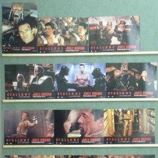 Cine: QD42D JUEZ DREDD SYLVESTER STALLONE ARMAND ASSANTE SET 12 FOTOCROMOS ORIGINAL ESTRENO. Lote 148900150