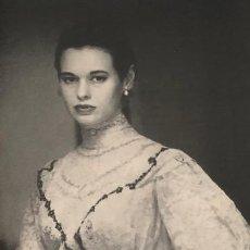 Cine: ESCRITORA Y ACTRIZ GLORIA VANDERBILT. PÁGINA DE PRENSA. ORIGINAL AÑO 1954. 13 X 36 CM.. Lote 149317790