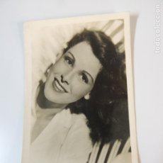 Cinema: FRANCES DEE - POSTAL ORIGINAL B/N - HOLLYWOOD STAR PUBLICIDAD KORES CARBOPLAN. Lote 149488190