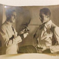Cine: FOTOGRAFÍA ORIGINAL, PELÍCULA LA BODEGA, VALENTÍN PARERA Y ENRIQUE RIVERO, 1930, 19,50X14 CM. Lote 149518858