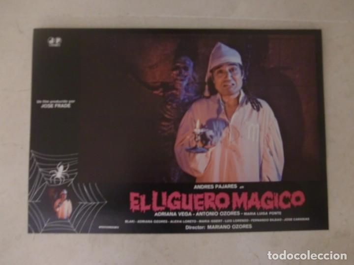 EL LIGUERO MAGICO / ANDRÉS PAJARES / JUEGO COMPLETO ORIGINAL 12 FOTOCROMOS ESTRENO (Cine - Fotos, Fotocromos y Postales de Películas)