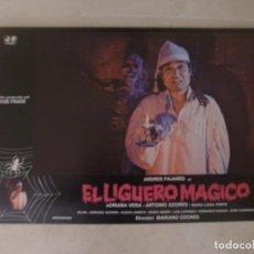 Cine: EL LIGUERO MAGICO / ANDRÉS PAJARES / JUEGO COMPLETO ORIGINAL 12 FOTOCROMOS ESTRENO. Lote 149744206
