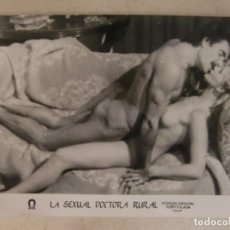 Cine: LA SEXUAL DOCTORA RURAL / MARINA FRAJESE / JUEGO ORIGINAL 13 FOTOCROMOS ESTRENO. Lote 149899050