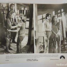Cine: VIERNES 13. 4ª PARTE: ÚLTIMO CAPÍTULO - FOTO B/N ORIGINAL - FRIDAY THE 13TH. THE FINAL CHAPTER. Lote 149948990