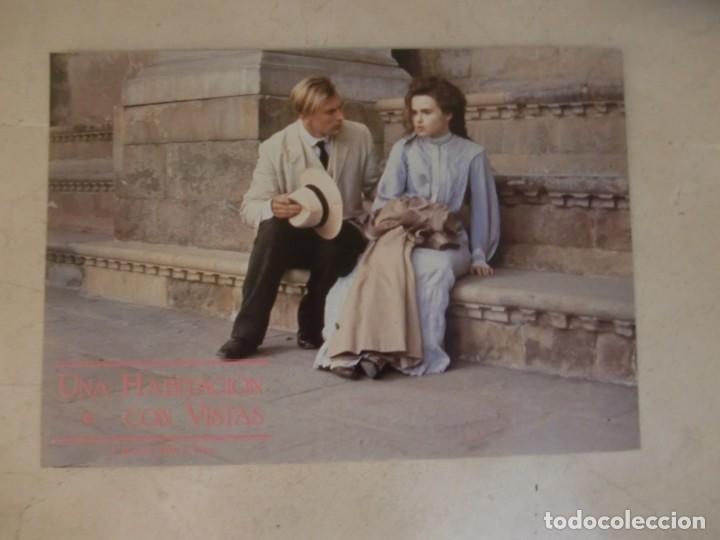 Una Habitacion Con Vistas James Ivory Helena Bonham Carter Juego Original 10 Fotocromos Estreno