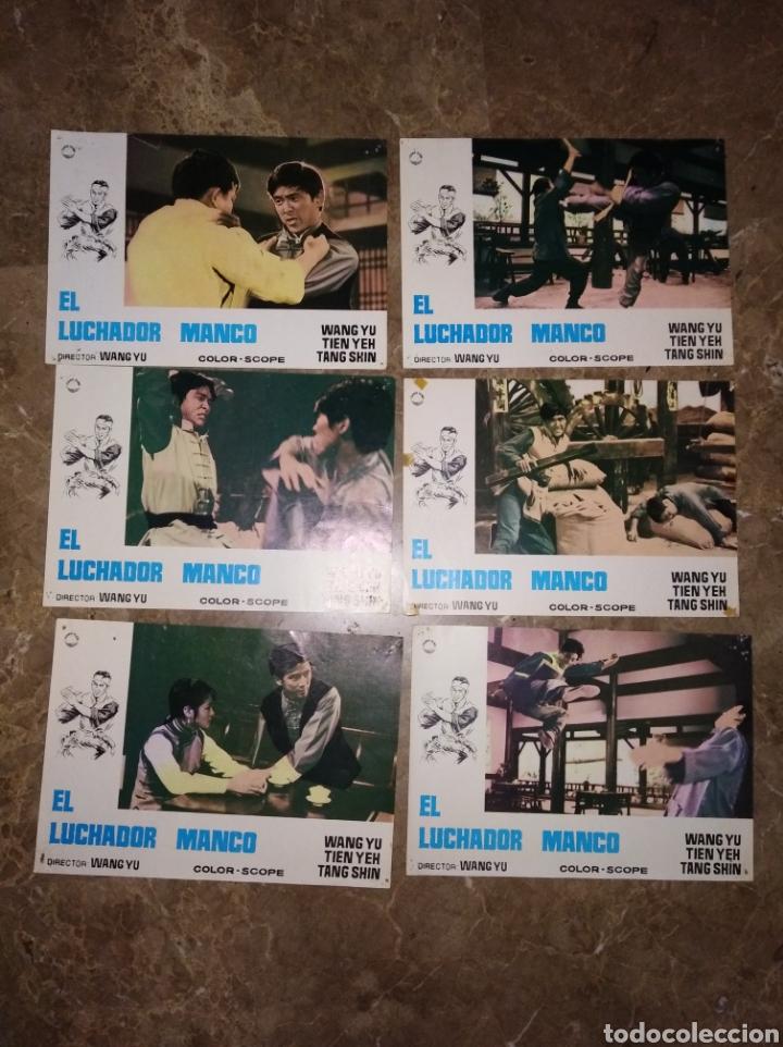 EL LUCHADOR MANCO WANG YU 11 FOTOCROMOS ORIGINALES DEL ESTRENO Q (Cine - Fotos, Fotocromos y Postales de Películas)