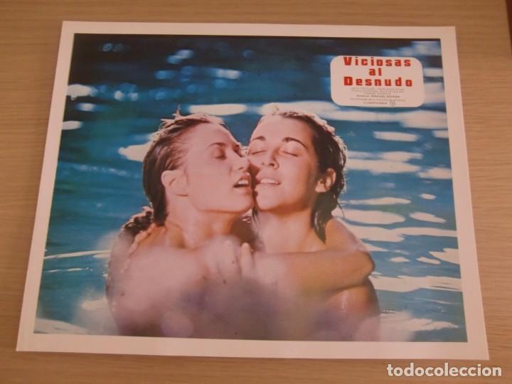 Viciosas Al Desnudo Eva Lyberten Adriana Vega Juego Completo Original 10 Fotocromos Estreno
