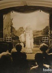1935 Catalina Bárcena. Fotografía antigua