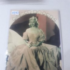 Cine: GINGER ROGERS . Lote 151675934
