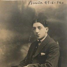 Cine: 1920 ANTIGUA POSTAL FOTOGRÁFICA. PEPE ACUAVIVA 8X12,9 CM. Lote 151973934
