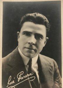 Antigua postal fotográfica. José Parera 8,7x13,7 cm