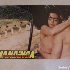 Cine: MANDINGA (ULTRAJE A UNA RAZA) / MARIA ROSARIA RIUZZI / JUEGO ORIGINAL 10 FOTOCROMOS ESTRENO. Lote 152010718