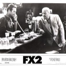 Cine: FX2 (FOTO ORIGINAL BLANCO Y NEGRO 19X22). Lote 152033570