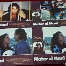 Cine: MATAR AL NANI. LOTE 10 FOTOCROMOS.. Lote 152087510