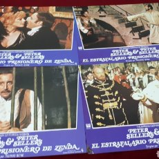 Cine: EL ESTRAFALARIO PRISIONERO DE ZENDA. LOTE 12 FOTOCROMOS. Lote 152105080
