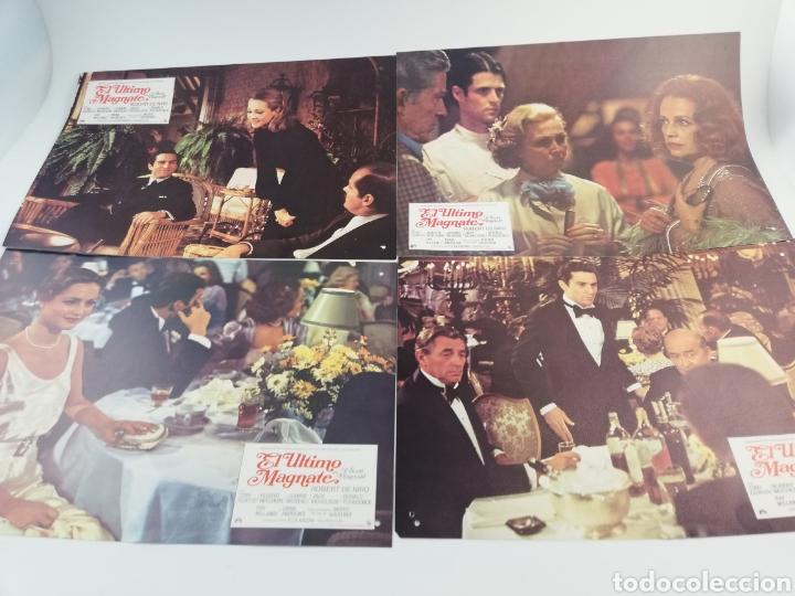 EL ULTIMO MAGNATE 12 FOTOCROMOS COMPLETO GUIA, DE NIRO JACK NICHOLSON, LOBBY CARDS SCOTT FITZGERALD (Cine - Fotos, Fotocromos y Postales de Películas)