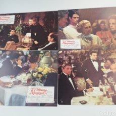 Cine: EL ULTIMO MAGNATE 12 FOTOCROMOS COMPLETO GUIA, DE NIRO JACK NICHOLSON, LOBBY CARDS SCOTT FITZGERALD. Lote 152180344