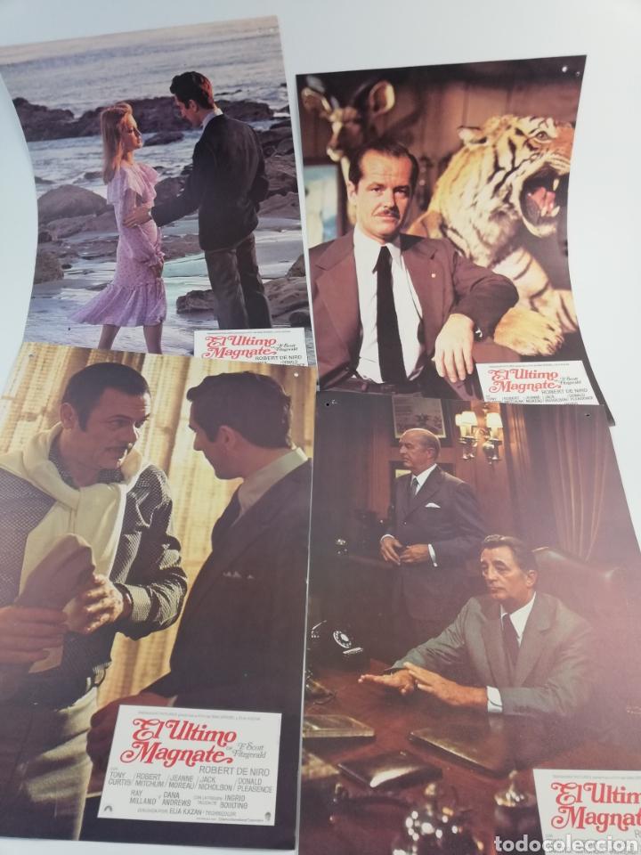 Cine: EL ULTIMO MAGNATE 12 FOTOCROMOS COMPLETO GUIA, DE NIRO JACK NICHOLSON, LOBBY CARDS SCOTT FITZGERALD - Foto 2 - 152180344