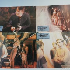 Cine: LOS 7 MAGNIFICOS DEL ESPACIO EXTERIOR 12 FOTOCROMOS JUEGO COMPLETO LOBBY CARDS.. Lote 152190577