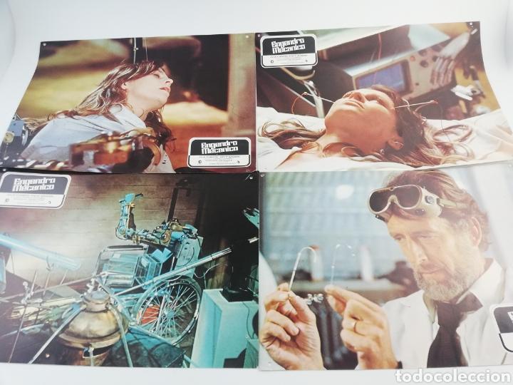 ENGENDRO MECANICO 12 FOTOCROMOS JUEGO COMPLETO LOBBY CARDS JULIE CHRISTIE FRITZ WEAVER. (Kino - Fotos und Postkarten von Filmen)