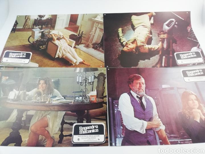 Kino: ENGENDRO MECANICO 12 FOTOCROMOS JUEGO COMPLETO LOBBY CARDS JULIE CHRISTIE FRITZ WEAVER. - Foto 2 - 152193574