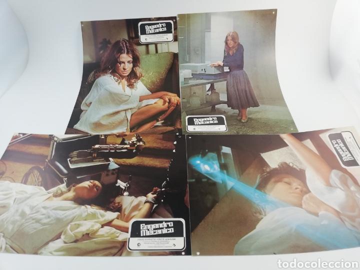 Kino: ENGENDRO MECANICO 12 FOTOCROMOS JUEGO COMPLETO LOBBY CARDS JULIE CHRISTIE FRITZ WEAVER. - Foto 3 - 152193574