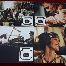 Cine: EL GRAN GATSBY. LOTE 10 FOTOCROMOS.. Lote 152249774