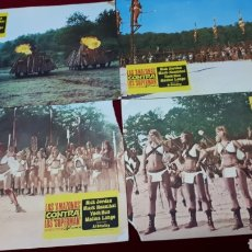Cine: LAS AMAZONAS CONTRA LOS SUPERMAN. 8 FOTOCROMOS. Lote 152258050