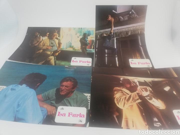 Cine: LA FURIA 12 FOTOCROMOS JUEGO COMPLETO BRIAN DE PALMA ROBERT MITCHUM LOBBY CARDS 1978 - Foto 3 - 152324366