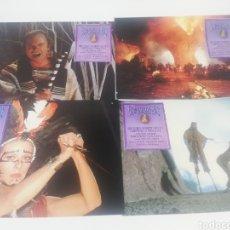 Cine: ESCARABAJOS ASESINOS 12 FOTOCROMOS JUEGO COMPLETO LOBBY CARDS.. Lote 152329074
