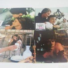 Cinema: NO ES NADA MAMA SÓLO UN JUEGO 12 FOTOCROMOS JUEGO COMPLETO LOBBY CARDS DAVID HEMMINGS PACO RABAL. Lote 152432868