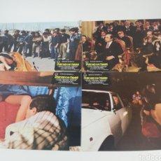 Cine: POLICIAS CON FALDAS 12 FOTOCROMOS + GUIA JUEGO COMPLETO LOBBY CARDS 1979. Lote 152452853
