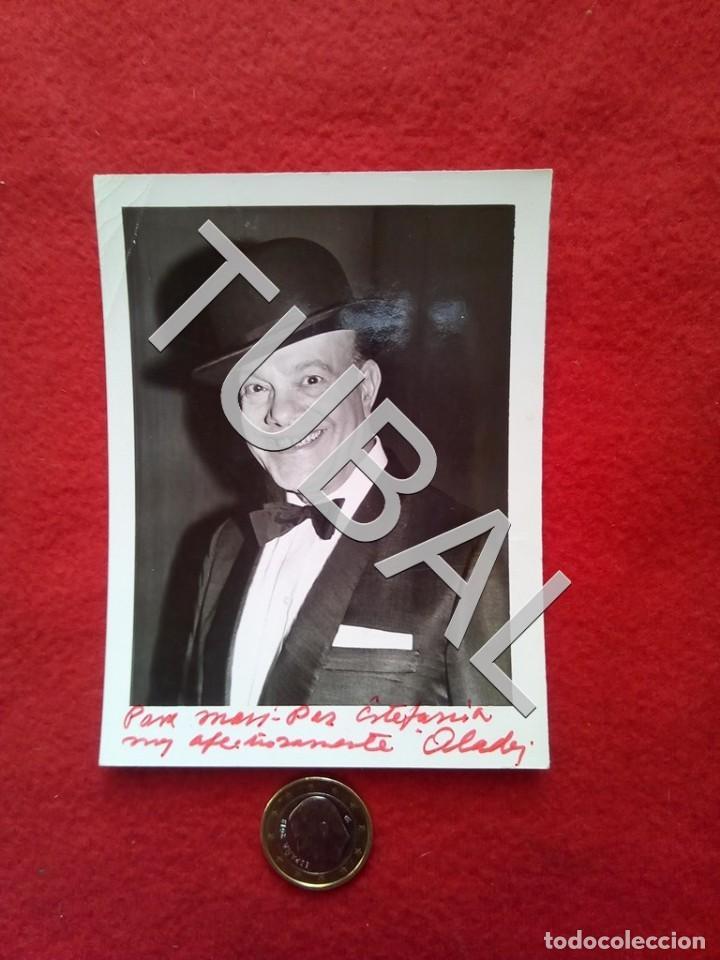 TUBAL CON AUTÓGRAFO DE ALADY - FOTOGRAFÍA (Cine - Fotos y Postales de Actores y Actrices)