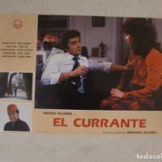 Cine: EL CURRANTE / MARIANO OZORES / ANDRÉS PAJARES / JUEGO ORIGINAL 8 FOTOCROMOS ESTRENO. Lote 153482202