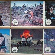 Cine: ZJ52 SHALAKO SEAN CONNERY BRIGITTE BARDOT 6 FOTOCROMOS LOBBY CARDS ORIGINAL AMERICANO. Lote 153931622