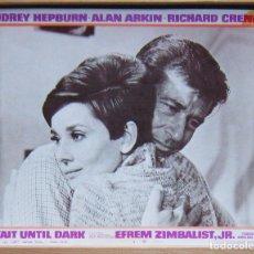 Cine: ZH17 SOLA EN LA OSCURIDAD AUDREY HEPBURN LOBBY CARD ORIGINAL AMERICANO. Lote 153976594