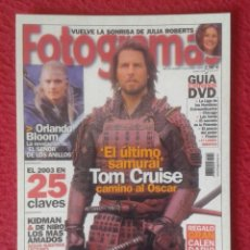 Cine: POSTAL POST CARD CARTE POSTALE CINE REVISTA FOTOGRAMAS TOM CRUISE JULIA ROBERTS ORLANDO BLOOM ...VER. Lote 154122738