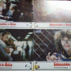 Cine: EDUCANDO A RITA. MEDIDAS 34X24CM. 5 UNIDADES. Lote 154232666