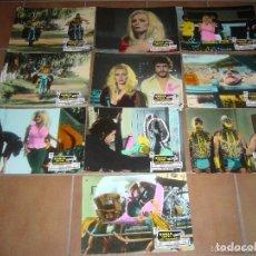 Cine: KARLA CONTRA LOS JAGUARES WRESTLING MARCELA REY 10 FOTOCROMOS ORIGINALES EN CARTON DEL ESTRENO. Lote 154276726