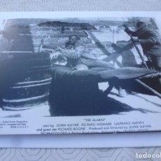 Cine: FOTO MATE (15 X 20 ) -EL ÁLAMO-(JOHN WAYNE). Lote 154325226