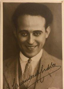 Fernando Fernandez de Córdoba. Fotografía / Tarjeta postal original.