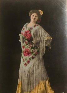 Maria Palou. Fotografía / Tarjeta postal original. Serie 2031/17. Fotógrafo Fialdro