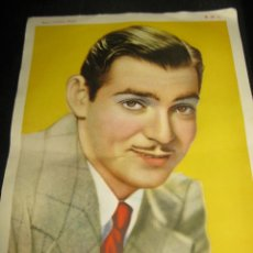 Cine: CLARK GABLE-METRO GOLDWYN MAYER- 18X13 - ORIGINAL IMPRESO EPOCA -COLOR. Lote 154517810