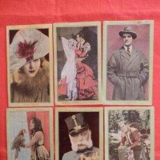 Cine: NOTABILIDADES DE LA PANTALLA SERIE E, 12 FOTOCROMOS CHOCOLATES EVARISTO JUNCOSA, AÑOS 20 CINE MUDO. Lote 154533790